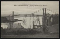 Lézardrieux - Pont suspendu sur le Trieux - Lézardrieux