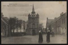 Lézardrieux - Eglise et place de Lézardrieux - Lézardrieux