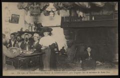 Minihy-Tréguier - Repas de moissonneurs au manoir de Kermartin - Minihy-Tréguier