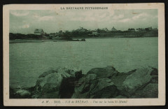 Ile-de-Bréhat - Vue sur la butte Saint-Michel 22 Île-de-Bréhat