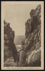 Ile-de-Bréhat - gouffre du Paon 22 Île-de-Bréhat