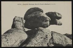 Ile-de-Bréhat - Rocher étrange Roc'h-Toul à Bréhat 22 Île-de-Bréhat