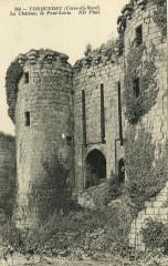 Tonquédec - Château et pont levis - Tonquédec