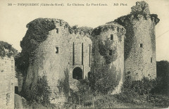 Tonquédec - Château pont-levis - Tonquédec