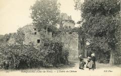 Tonquédec - Entrée du château - Tonquédec