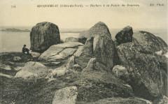 Trédrez-Locquémeau - Rochers à la Pointe du Dourvin - Trédrez-Locquémeau