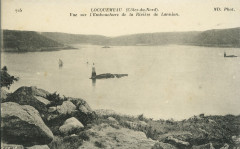 Trédrez-Locquémeau - Vue sur l'embouchure de la rivière de Lannion - Trédrez-Locquémeau