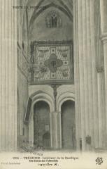 Tréguier - Basilique intérieur coin de l'abside - Tréguier