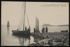 Ile-de-Bréhat - Arrivée du courrier à la Pointe 22 Île-de-Bréhat