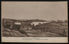 Ile-de-Bréhat - Chaumières sur la Corderie 22 Île-de-Bréhat