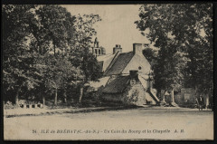 Ile-de-Bréhat - Coin du bourg et de la chapelle 22 Île-de-Bréhat