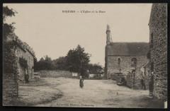 Boqueho - Eglise et place - Boqueho