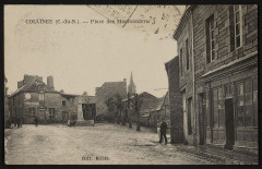 Collinée - Place des marronniers - Le Mené