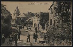 Le Faouët - Rue de l'église - Le Faouët