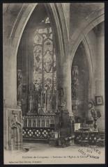 Grâces - Intérieur de l'église - Grâces