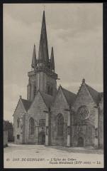 Grâces - Eglise façade méridionale XVIe siècle - Grâces