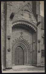 Grâces - Eglise portail occidental - Grâces