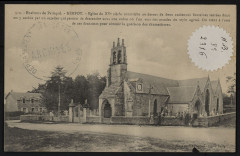 Kerfot - Eglise du XVe siècle construite au-dessus de deux anciennes fontaines sacrées - Kerfot