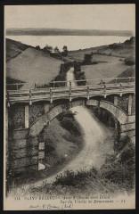 Langueux - Anse d'Iffiniac vers Illiou vue du viaduc de Douvenant - Langueux
