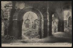 Lanleff - Temple et colonnades des XIe et XIIe siècles - Lanleff