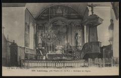 Lanloup - Intérieur de l'église - Lanloup