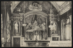 Lanvellec - Intérieur de la chapelle de Notre-Dame de Pitié à Saint-Carré - Lanvellec