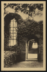 Lanvellec - Rosambo porte de l'ancienne chapelle - Lanvellec