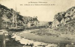 Saint-Gilles-Vieux-Marché - Entrée de la vallée de Poulancre - Saint-Gilles-Vieux-Marché