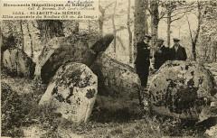 Saint-Jacut-du-Mené - Allée couverte du Rocher - Le Mené