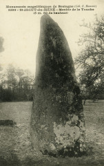 Saint-Jacut-du-Mené - Menhir de La Touche - Le Mené