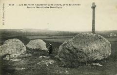 Saint-Julien - Rochers Chambrin ancien sanctuaire druidique - Saint-Julien