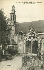 Saint-Laurent - Clocher et porche - Saint-Laurent
