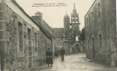 Tréduder - Eglise monument historique - Tréduder