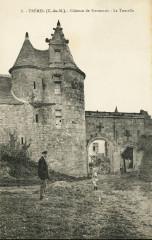 Trémel - Château de Kermerzit tourelle - Trémel