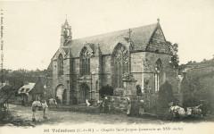 Tréméven - Chapelle Saint-Jacques construite au XVIe siècle - Tréméven