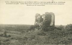 Tréméven - Ruines du donjon de Coëtmen - Tréméven