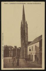 Loguivy-Plougras - Clocher Saint-Emilion - Loguivy-Plougras