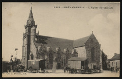 Maël-Carhaix - Eglise paroissiale - Maël-Carhaix