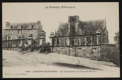 Loguivy-Plougras - Colonnade et chapelle Saint-Yvi - Loguivy-Plougras