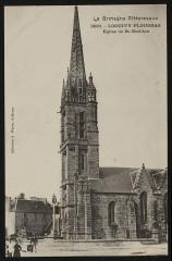 Loguivy-Plougras - Eglise de Saint-Emilion - Loguivy-Plougras
