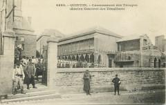 Quintin - Casernement des troupes ancien couvent des Ursulines - Quintin