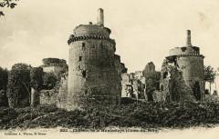 Plédéliac - Château de la Hunaudaye - Plédéliac
