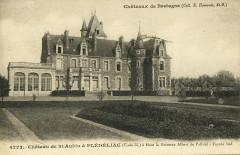 Plédéliac - Château de Saint-Aubin - Plédéliac