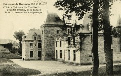 Plédran - Château de Craffault côté jardin - Plédran
