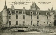 Plédran - Château de Craffault du XVIIe siècle - Plédran