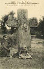 Quessoy - Croix carolingienne à Saint-Quéneuc - Quessoy