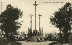 Plouaret - Buste du barde Luzel 22 Plouaret