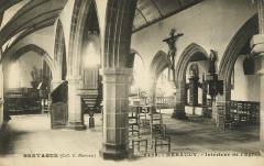 Ploumilliau - Kéraudy intérieur de l'église - Ploumilliau