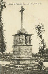 Pommerit-le-Vicomte - Calvaire de la chapelle du Paradis - Pommerit-le-Vicomte
