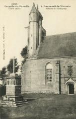 Pommerit-le-Vicomte - Chapelle du Paradis du XVIe siècle - Pommerit-le-Vicomte